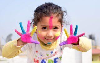 šťastné dětství je o maličkostech.