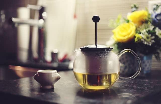 Únava a zelený čaj