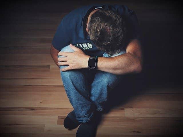 Deprese z rozchodu nebo rozvodu.