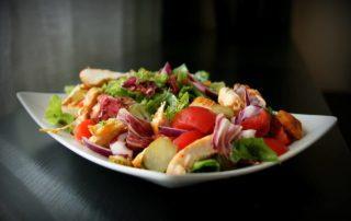 Zdravé jídlo je potěšení pro oko.