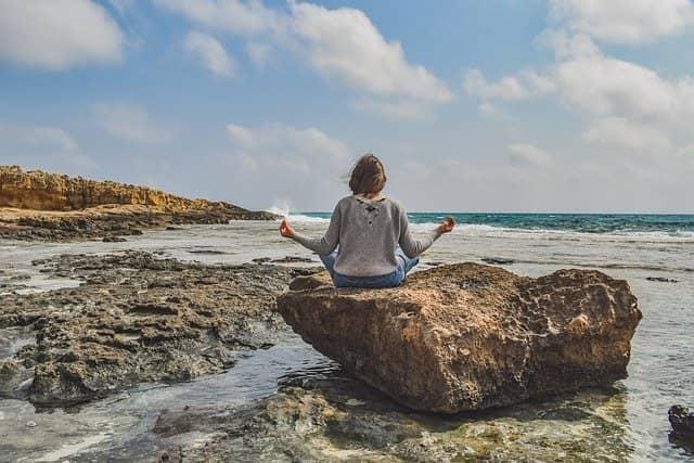 Meditace a zklidnění mysli