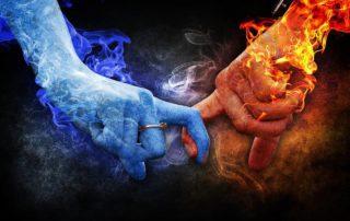 Karmický vztah vždy vyjadřuje jistou míru síly a závislosti.