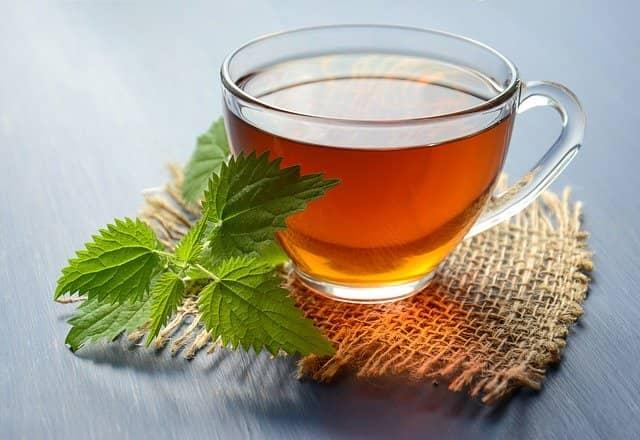 Kopřivový čaj působí blahodárně na čistění krve