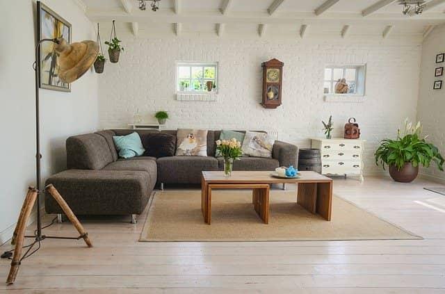 feng-šuej obývací pokoj