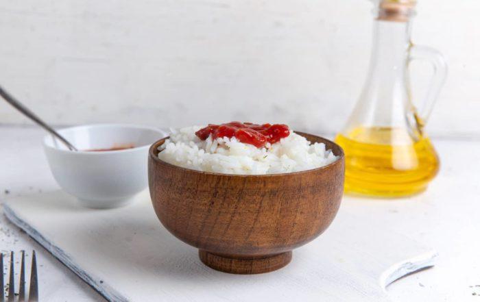 Rýžový olej se získává lisováním otrub rýže.